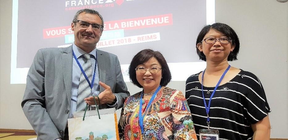 07/23/2018.文藻團隊赴歐洲參加學術論壇  與法國天主教姐妹校簽署合約